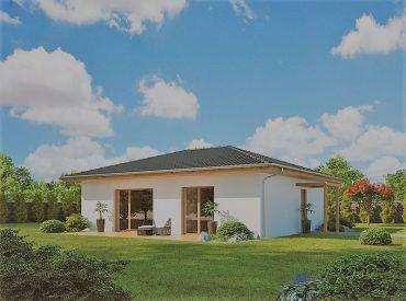 Predané-Novostavba 4+1 bungalovu 88m2 na kľúč s pozemkom 515 m2, Banská Bystrica - Hrochoť