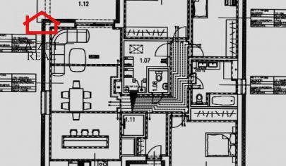 Predaj 4*izbového RD v Malých Levároch na pozemku 840m2