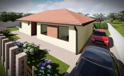 Novostavba - Moderný 4 izbový rodinný dom v obci Lehnice - Sása