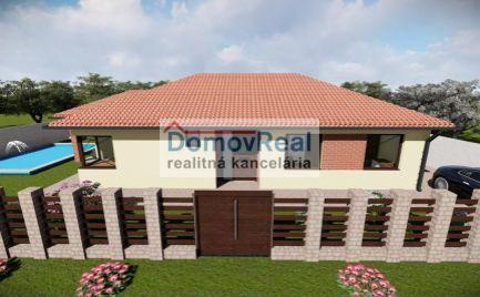 Novostavba - Moderný 4 izbový rodinný dom v obci Lehnice - Kolónia