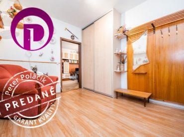 PREDANÉ - 3i BYT– BA V: 86 m2, krásny veľkometrážny byt na začiatku Petržalky s dvoma loggiami.