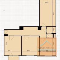 3 izbový byt, Bratislava-Ružinov, 80.60 m², Kompletná rekonštrukcia
