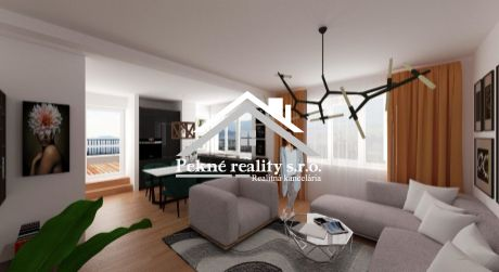 Predaj novostavby 2 izbového bytu s terasou v Detve.