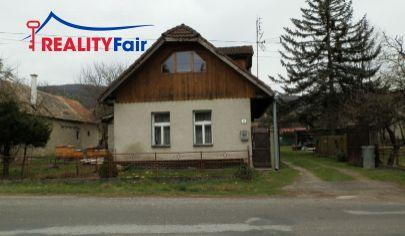 REZERVOVANÝ!!!  PREDAJ - rodinný dom s pozemkom 1559 m 2  - Čerín, Banská Bystrica