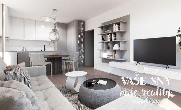 OS Hanzlíkovská, Bytový dom č.10, 3-izbový byt č. 3 v štandardnom prevedení za 135.600 €