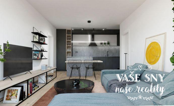 OS Hanzlíkovská, Bytový dom č.10, 2-izbový byt č. 4 v štandardnom prevedení za 100.300 €