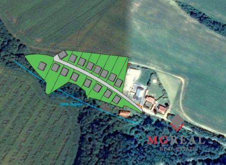 Stavebný pozemok pre výstavbu rodinných domov Súlovce