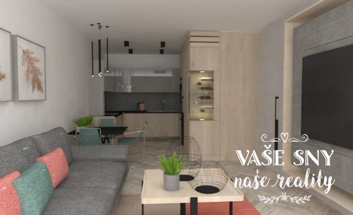 OS Hanzlíkovská, Bytový dom č.10, 2-izbový byt č. 8 v štandardnom prevedení za 100.500 €