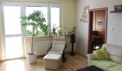 PREDAJ - výborný 4 izbový byt s loggiou 91 m2 v Ružinove, ul. Trnavská cesta