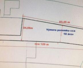 N026-14-MAHO - Predaj stavebný pozemok obec Belža 1828m2