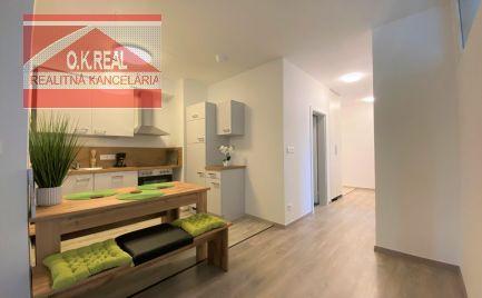 Ponúkame na prenájom zariadený, úplne nový 3 izbový byt vnovostavbe NUPPU, Hraničná ulica, v meste Bratislava - Ružinov. Súčasťou prenájmu je aj pivničná kobka a 2xgarážové státie.