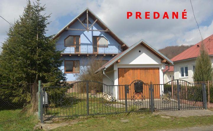 Na predaj zrekonštruovaný dom v Papíne