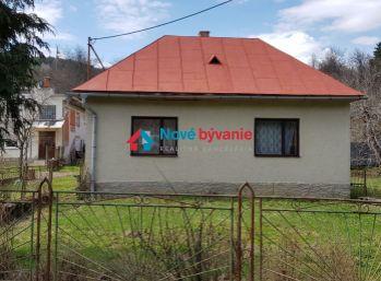 ZNÍŽENÁ CENA. Na predaj dom v obci Osadné. Človeku sa odtiaľ nechce.  (N006-12-JOHA)