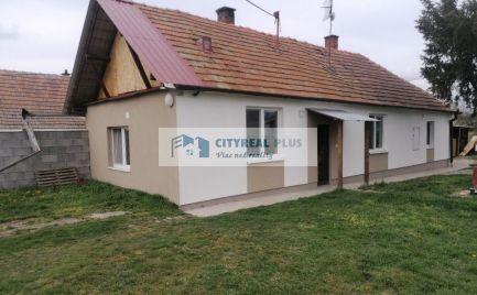 Predám rodinný dom v blízkosti mesta Vráble