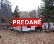 REZERVOVANÉ Na predaj rekreačná chata 58 m2 Ráztočno časť Remata okres Prievidza FM1071