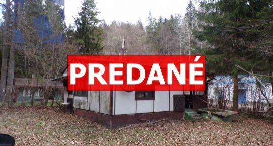 PREDANÉ Na predaj rekreačná chata 58 m2 Ráztočno časť Remata okres Prievidza FM1071