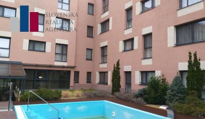 PRENÁJOM 2-izb,bez provízie RK,projekt MELROSE,bazén, garáž.státie, PETRŽALKA