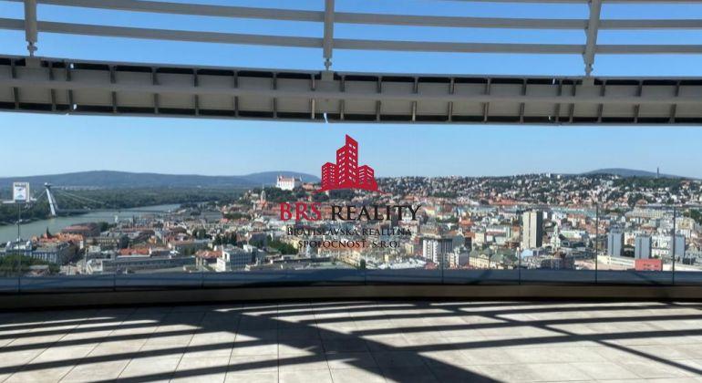 2 izb. byt v Sky parku s výhľadom na hrad