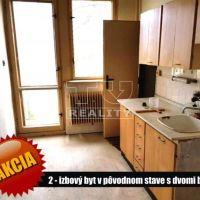2 izbový byt, Šahy, 49 m², Pôvodný stav