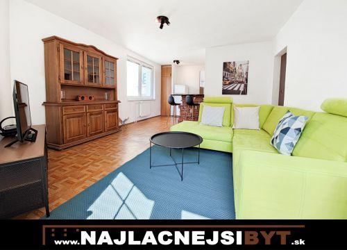BAII - Podunajské Biskupice, Dvojkrížna ul., 2 zbový byt i, 52,6 m2, zariadený, čiastočná rekonštrukcia