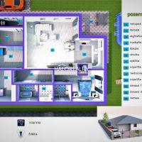 Rodinný dom, Hrádok, 177 m², Novostavba