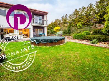PRENAJATÉ - PROVÍZIU NEplatíte:  Prenájom 4i zariadeného rodinného domu s bazénom, záhradou a parkovaním