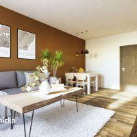 2 izbový byt, Trenčín, 59 m², Novostavba