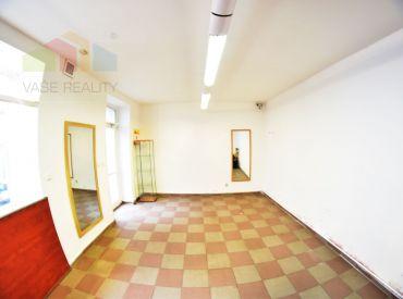 Prenájom za výbornú cenu, obchodný priestor 25 m², Obchodná ul., BA I. - Staré Mesto, voľný ihneď,