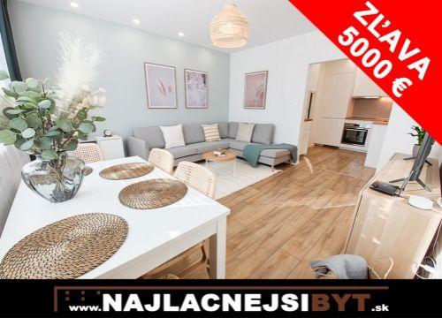 Na predaj zrekonštruovaný a krásne zariadený  3-i byt, 54,94 m2, Petržalka, Bradáčová ul.