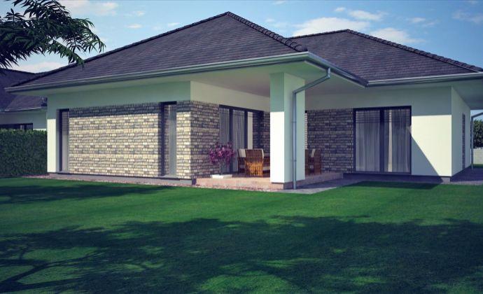 Priestranný moderný RD s garážou, krytou terasou a veľkým pozemkom