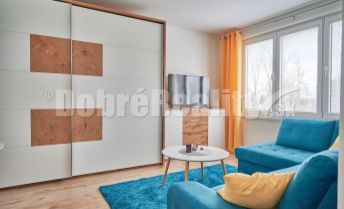 1 izbový byt prenájom, 38 m², 2.p./7.p., Nábrežie sv. Cyrila, Prievidza