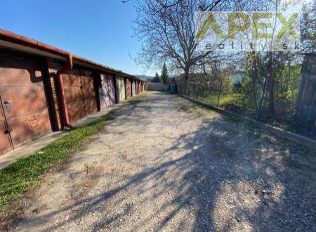 Exkluzívne APEX reality betónová garáž s el. prípojkou na Svätopeterskej ul. v Hlohovci