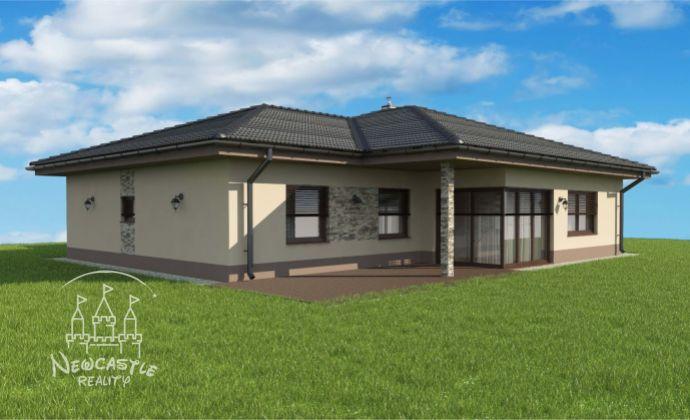 NOVOSTAVBA NA PREDAJ-4-izbový bungalov s úžitkovou plochou 95m2 vo VIP lokalite