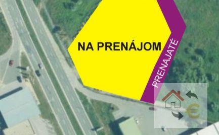 Vonkajšia skladová plocha na prenájom, cca 2 600 m2.
