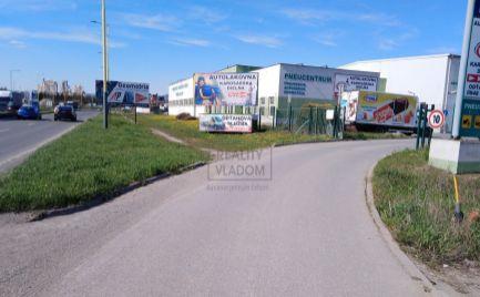 Parkovacia / odstavná plocha na prenájom pre motorové vozidlá - Ľubotice.