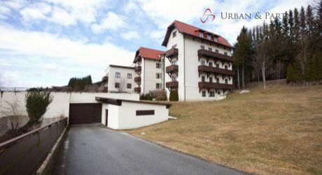 1 izbový apartmán v dedinke Steinhaus am Semmering.