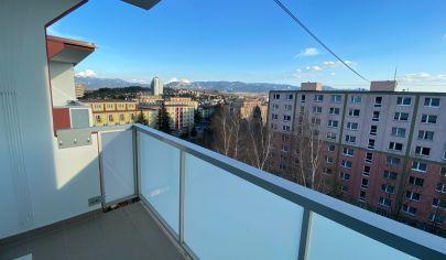 Svetlý 3-izbový byt, Hliny 7 - s krásnym výhľadom, komletná rekonštrukcia