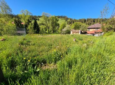 Stavebný pozemok v Čiernom Balogu exkluzívne na predaj v Novom Bývaní realitnej kancelárii