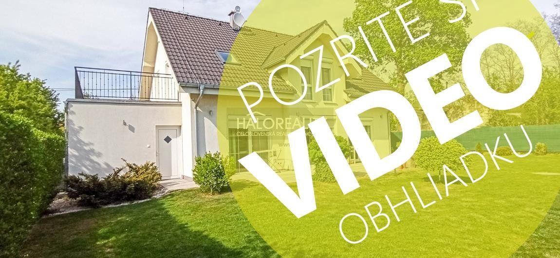 Predaj, rodinný dom Sereď, Horný Čepeň, IBA U NÁS 3D A VIDEOBHLIADKA - NOVOSTAVBA