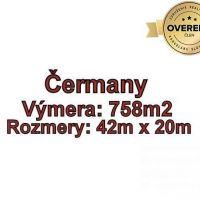 Pre rodinné domy, Čermany, 758 m²