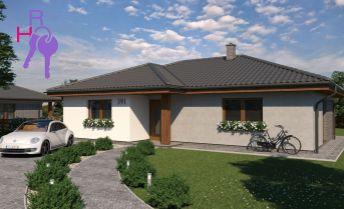 Ponúkame na predaj novostavbu bungalovu v obci Tovarníky