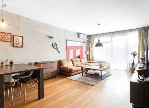 Na predaj výnimočný 2 izbový byt v projekte TatraCity s veľkou lodžiou na Černyševského ulici