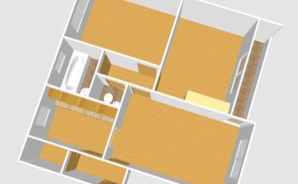 3 izbový byt s krásnym výhľadom, Martin – Ľadoveň