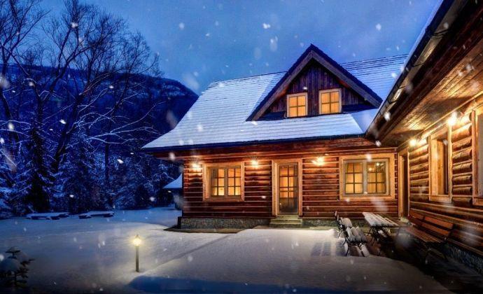 Nadštandardný rodinný rekreačný dom na Liptove - Kvačianska dolina