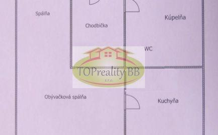 Byt 1 izbový byt, bauring, po rekonštrukcii, B. Bystrica, Fončorda – Cena 84 000€