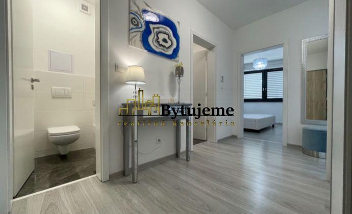 2i. byt s balkónom a parkovacím státím v novostavbe, BA II - Ružinov