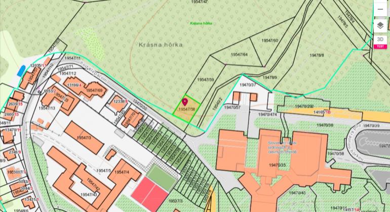 Na predaj exkluzívne lesné pozemky Bratislava-Nové Mesto, Pod Klepáčom