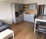 Prenájom: 2 izbový byt v novostavbe 50 m2, lodžia + garážové státie, Trenčín, Saratovská ul. / Juh I