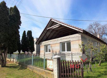 Rodinný dom Malé Ripňany - v rekonštrukcii