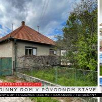 Rodinný dom, Kamanová, 120 m², Pôvodný stav